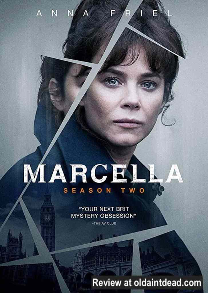 poster for marcella, season 2