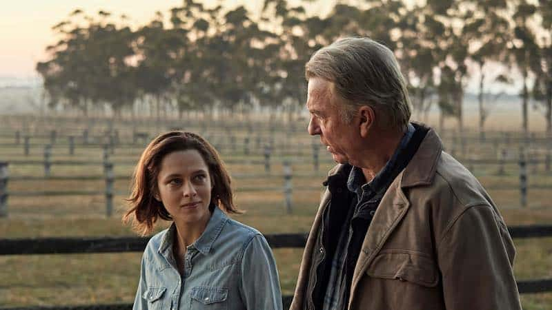 Sam Neill and Teresa Palmer in Ride Like a Girl