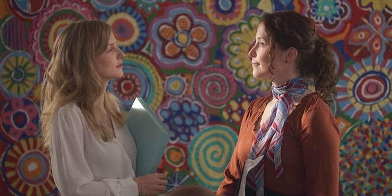 Faye Marsay and Heidi Lynch in Avocado Toast the series