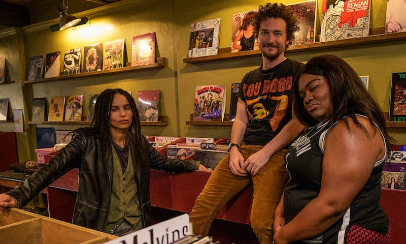 Zoë Kravitz, David H. Holmes, and Da'Vine Joy Randolph in High Fidelity