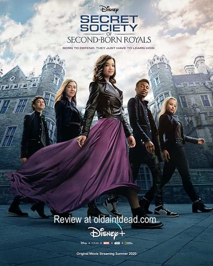 Poster for Secret Society of Second Born Royals