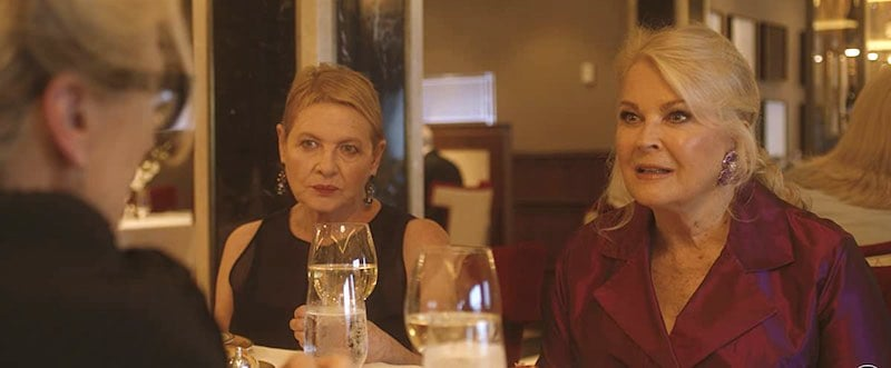 Dianne Wiest and Candice Bergen in Let Them All Talk