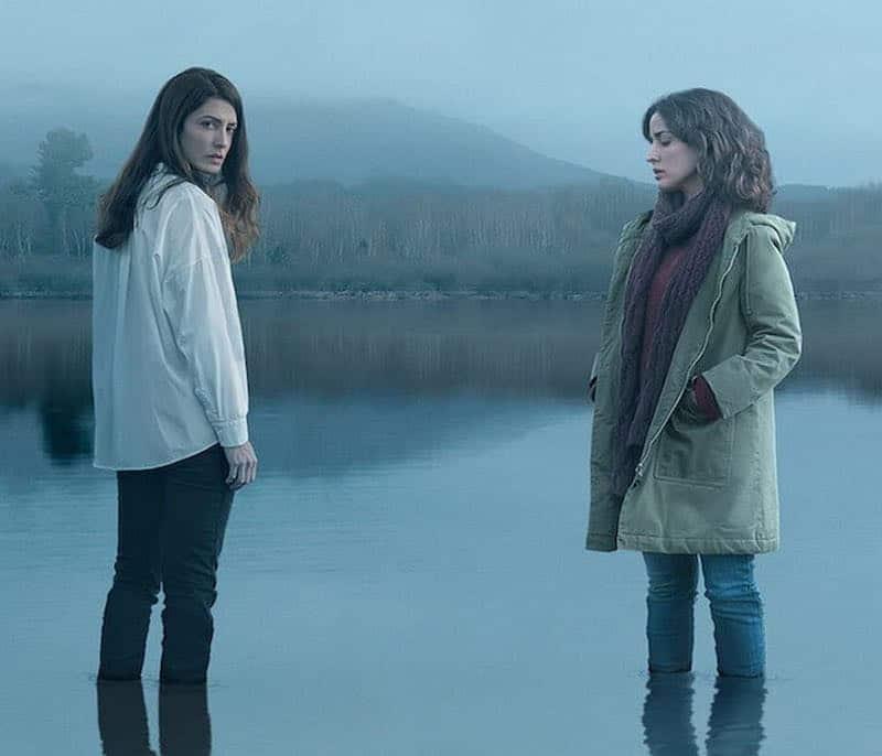 Inma Cuesta and Bárbara Lennie in The Mess You Leave Behind