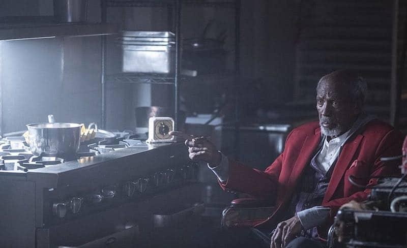 Louis Gossett Jr. in Watchmen
