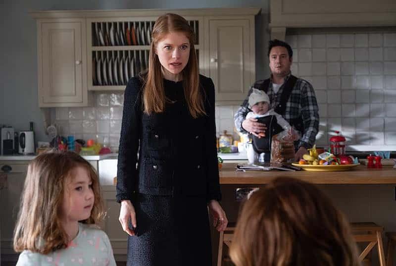 Genevieve Angelson, Rufus Jones, and Eliza Riley in Flack