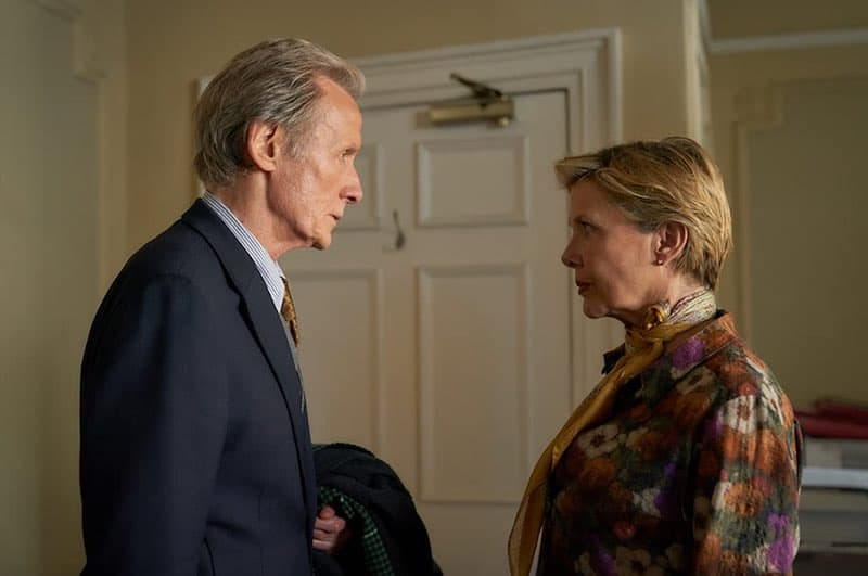 Annette Bening and Bill Nighy in Hope Gap