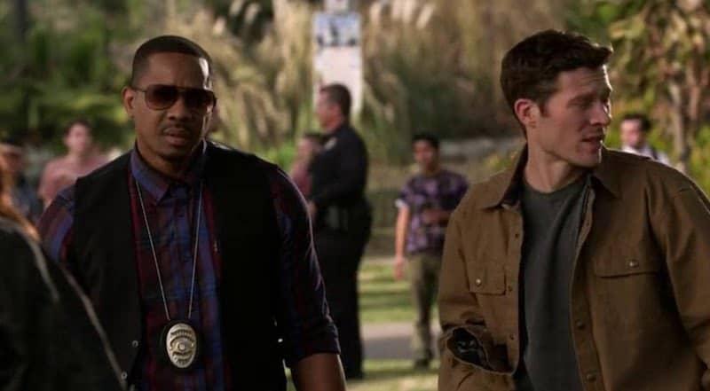 Duane Martin and Zach Gilford in L.A.'s Finest