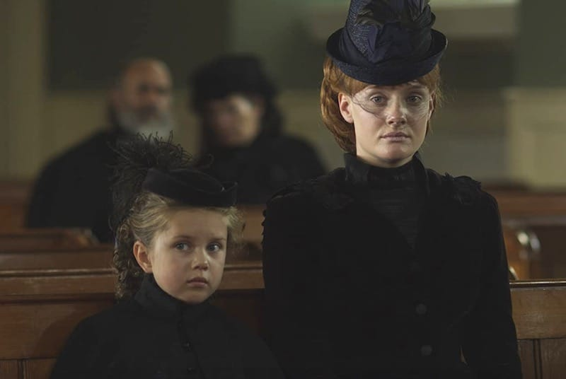Isla Watt and Romola Garai in The Crimson Petal and the White