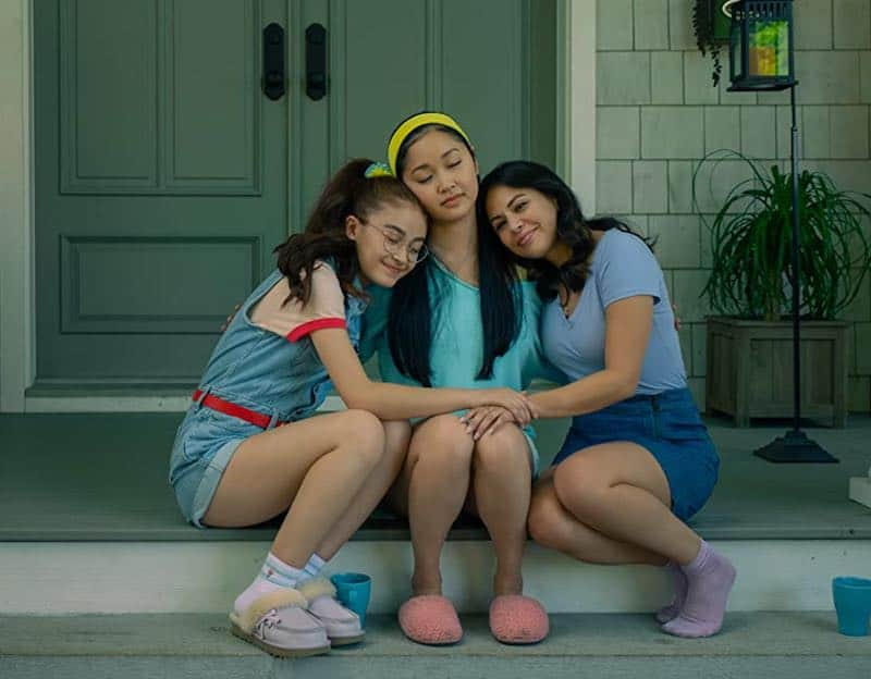 Janel Parrish, Lana Condor, and Anna Cathcart in To All the Boys: Always and Forever