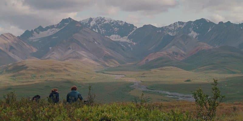 A spectacular view of Alaska