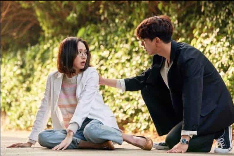 Ko Sung-hee  and Hyun-min Yoon in My Holo Love