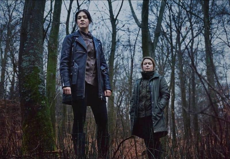 Natalie Madueño and Helle Fagralid in Blinded - Those Who Kill