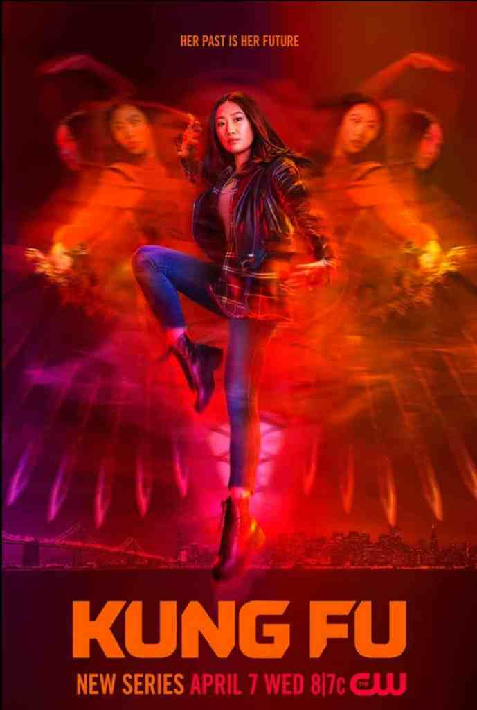 Kung Fu poster featuring Olivia Liang