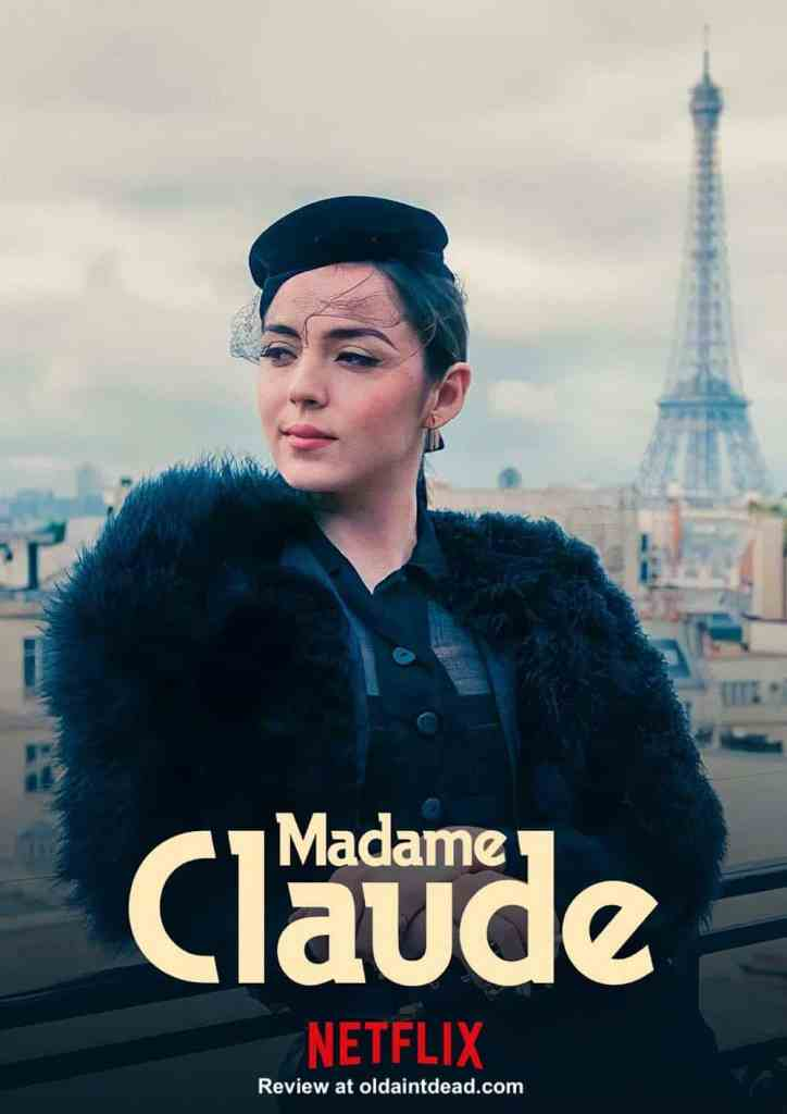 Sidonie in a Madame Claude poster