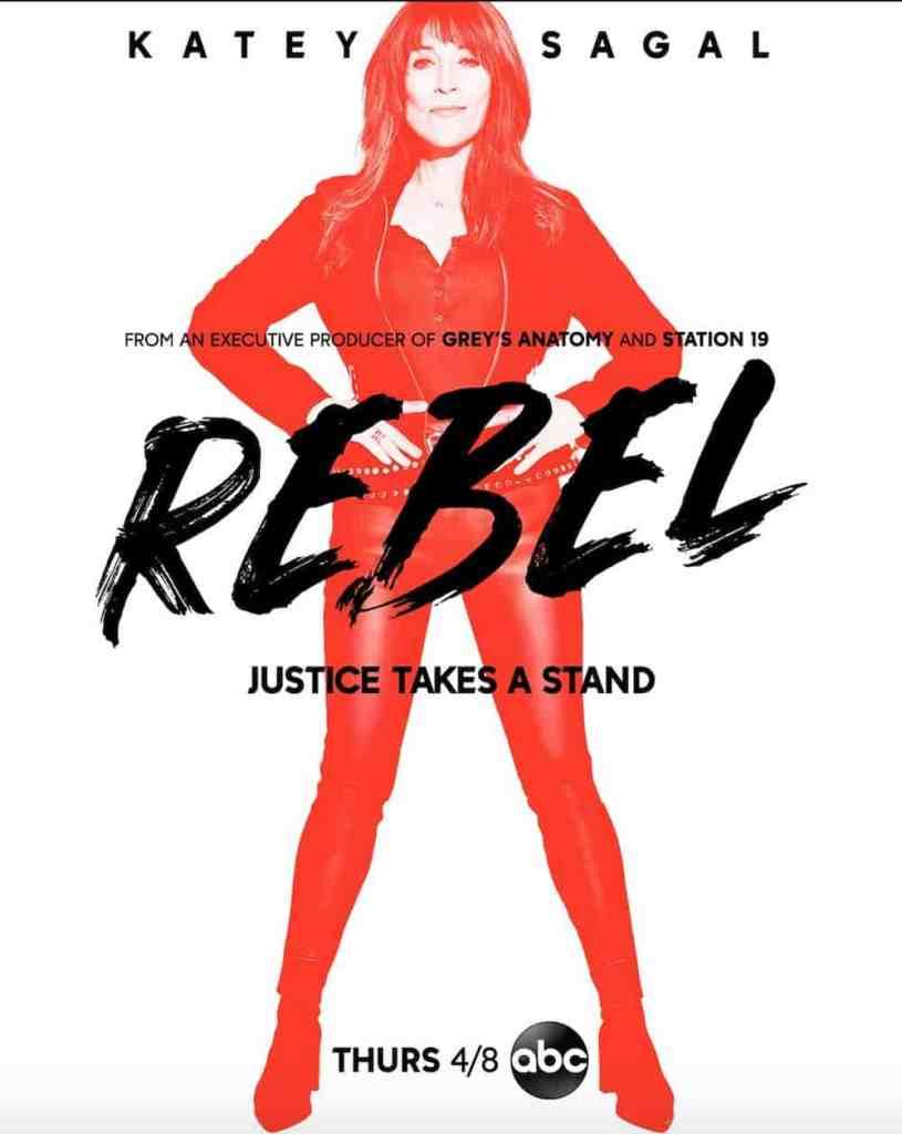 Rebel poster featuring Katey Sagal