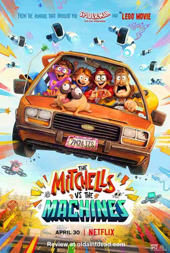 Poster for The Mitchells vs the Machines