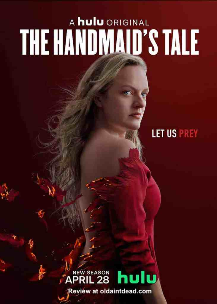 Poster for season 4 of The Handmaid's Tale