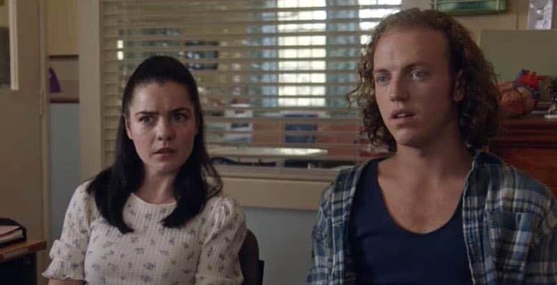 Chloe Bayliss and Matt Castley in The Heart Guy