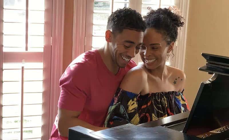 DeAna Davis and Lynn Andrews III in No Ordinary Love