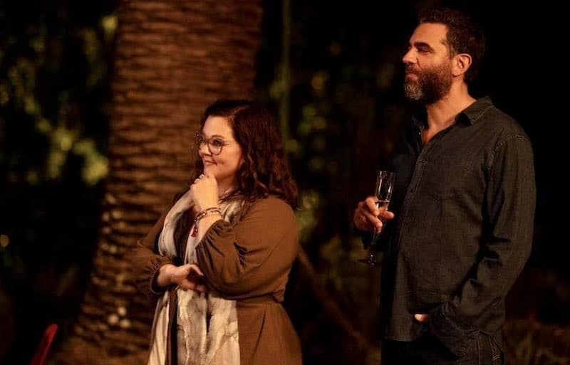 Bobby Cannavale and Melissa McCarthy in Nine Perfect Strangers