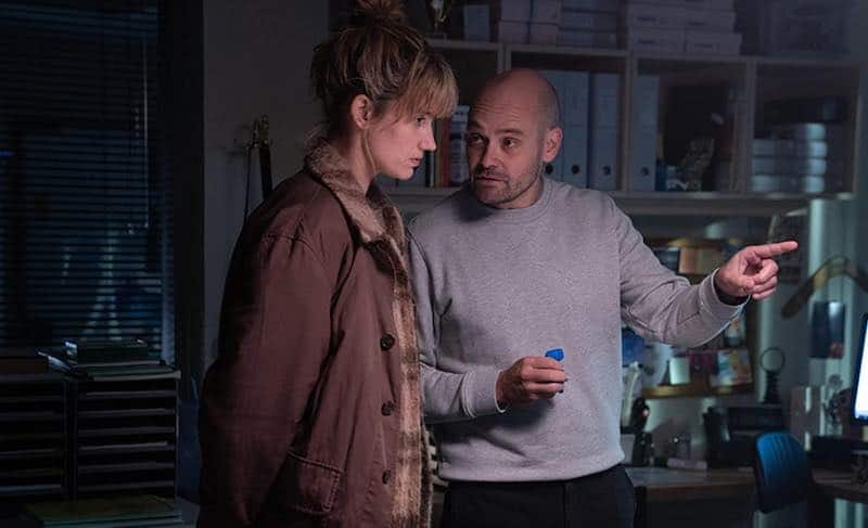 David Dencik and Danica Curcic in The Chestnut Man