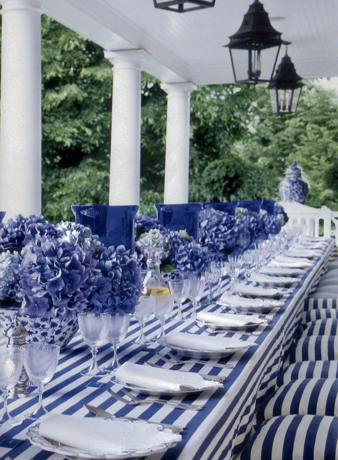 Decorating with Blue  White ft Carolyne Roehm  Old and New Designs