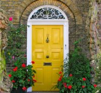 Things I Love: Brightly Painted Front Doors | Old and New ...