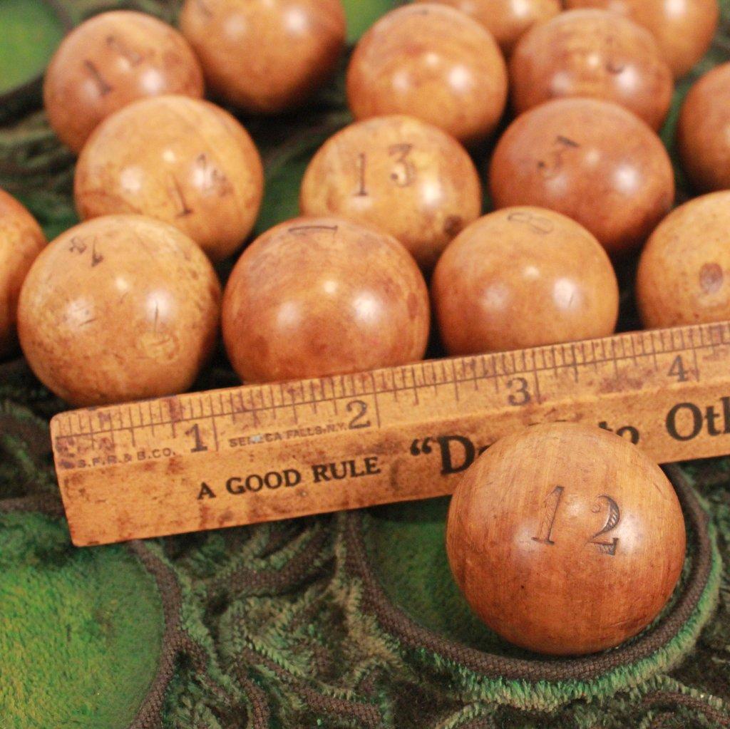 5 Wooden Ball