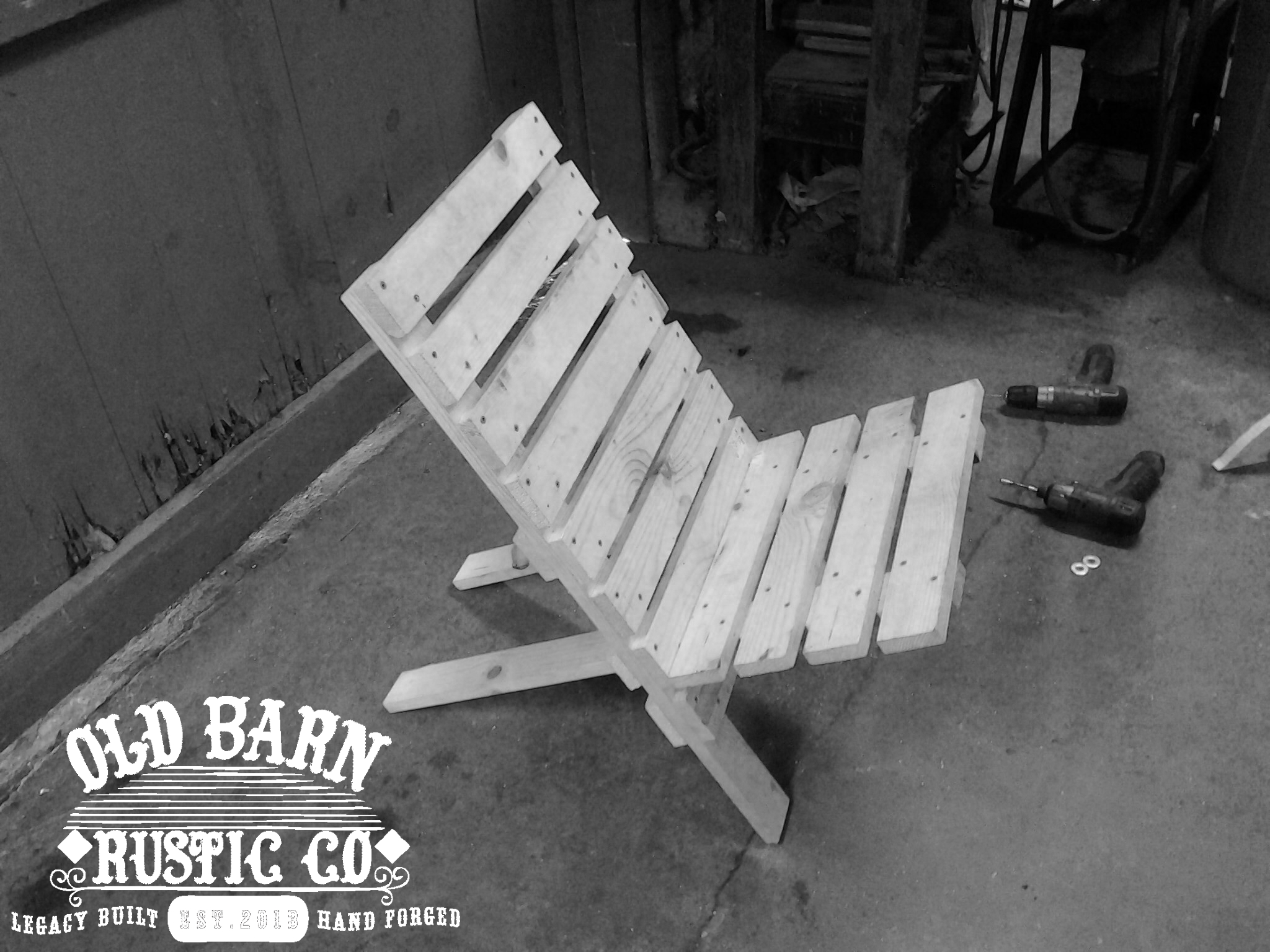 Old Barn Rustic Co 187 Old Jack Folding Chair Collection