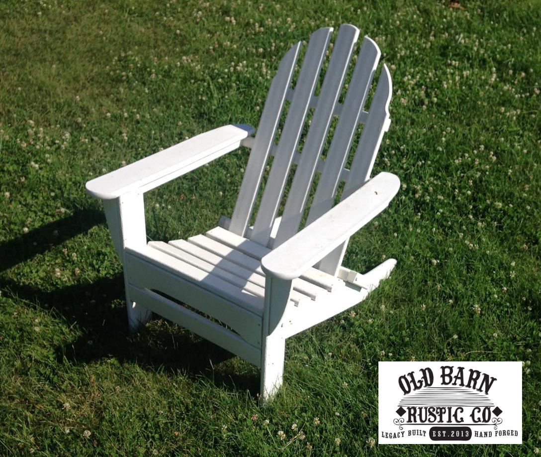 Old Barn Rustic Co 187 Old Glory Adirondack Chair