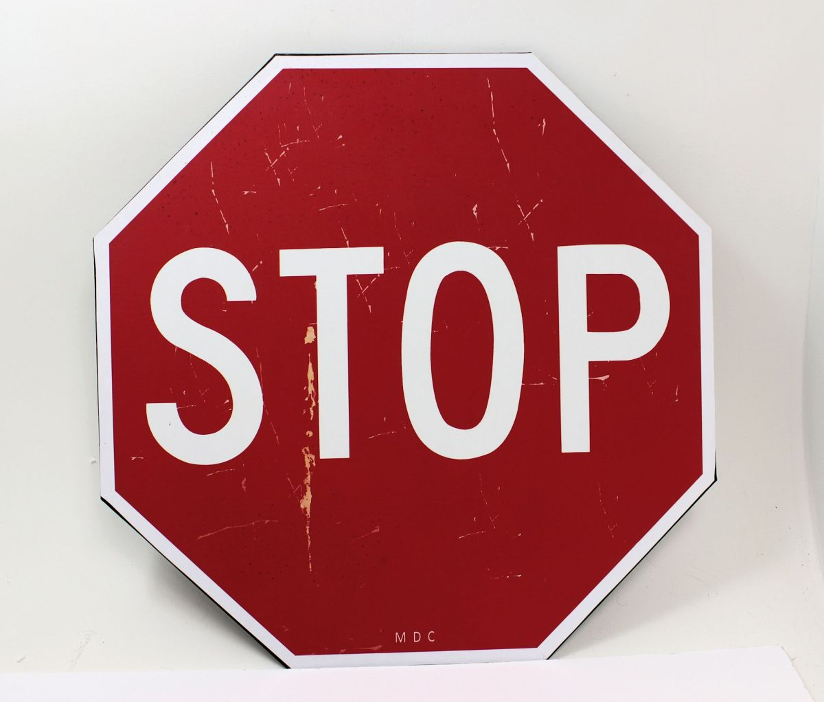 Large Stop Sign