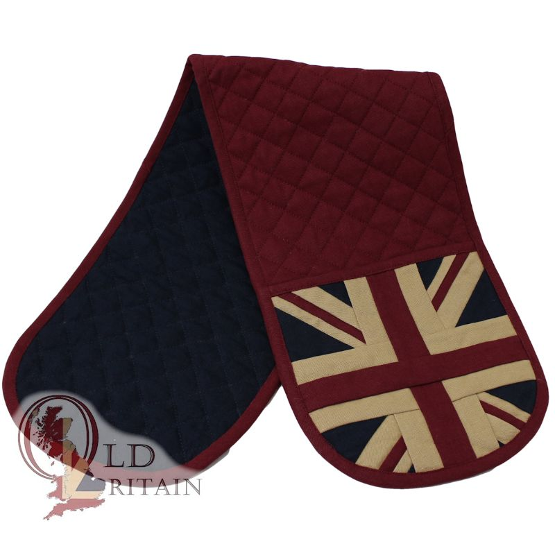 union jack oven gloves