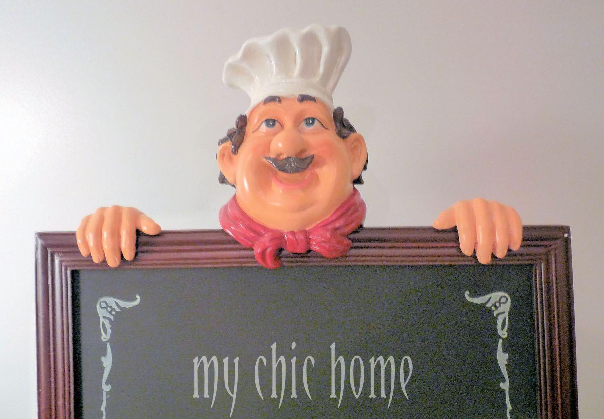 Chef Chalkboard Menu