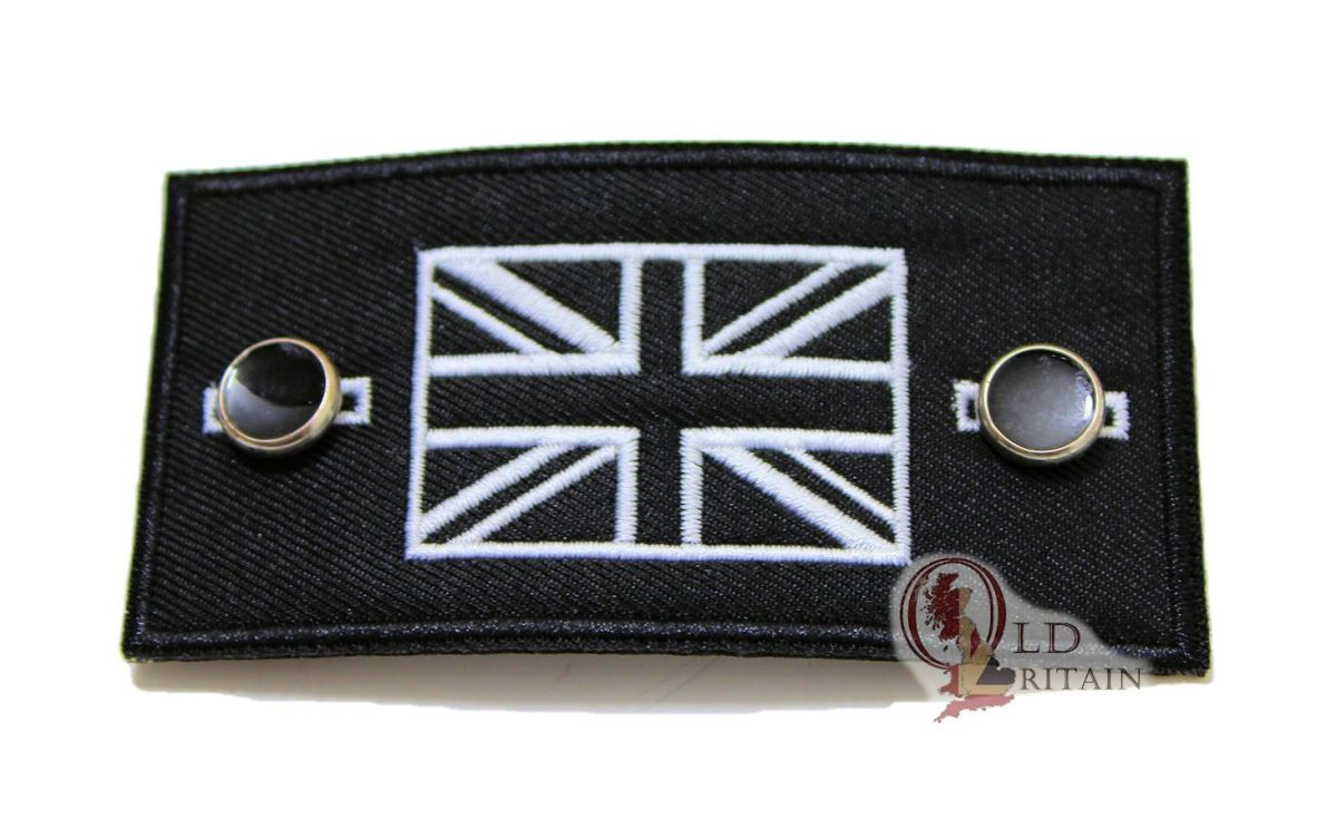 black union jack patch
