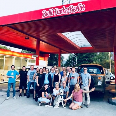 Old Bulli Berlin - Bestes Team - Geile Crew