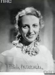 Elżbieta Barszczewska, polska aktorka przedwojenna
