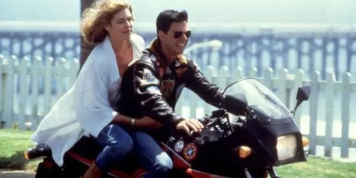 Film o motocyklach i miłości - Top Gun