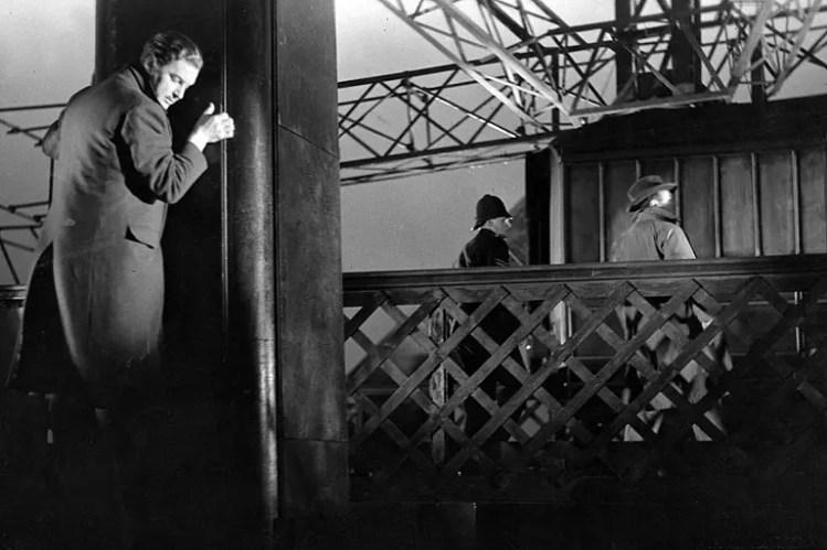Filmy Hitchcock - 39 kroków