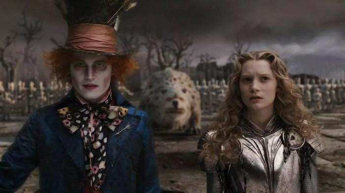 Tim Burton filmy animowane Alicja w Krainie Czarów