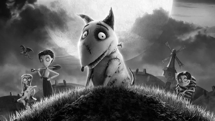 Filmy animowane Tima Burtona Frankenweenie