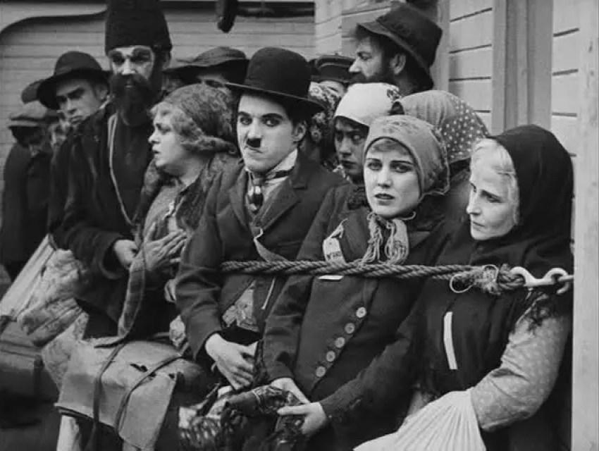 Chaplin Charlie filmy - Imigrant