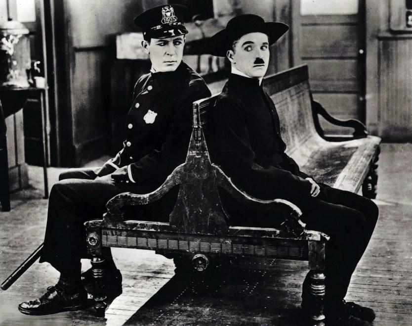 Chaplina filmy - Pielgrzym