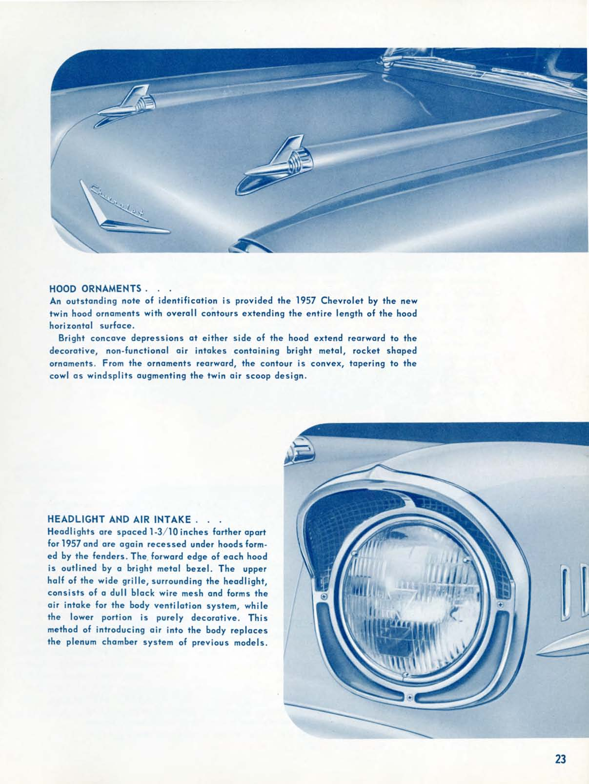 Hood Ornament Identification : ornament, identification, Chevrolet, Engineering, Features, Brochure