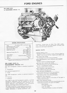 1967 Ford Mustang Facts Booklet