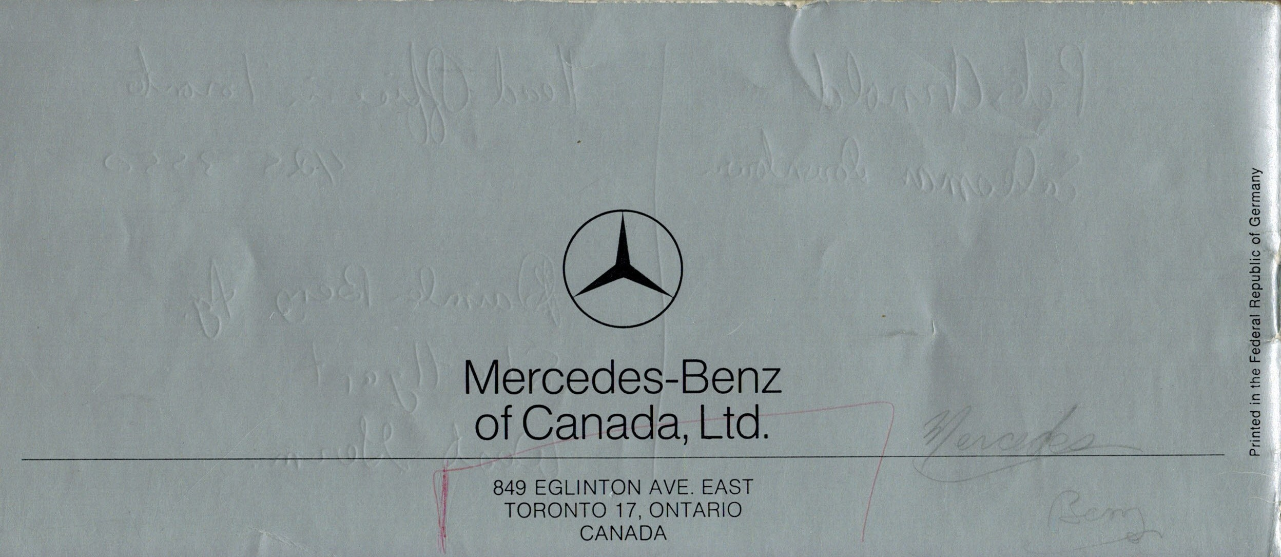 The Old Car Manual Project Brochure Collection