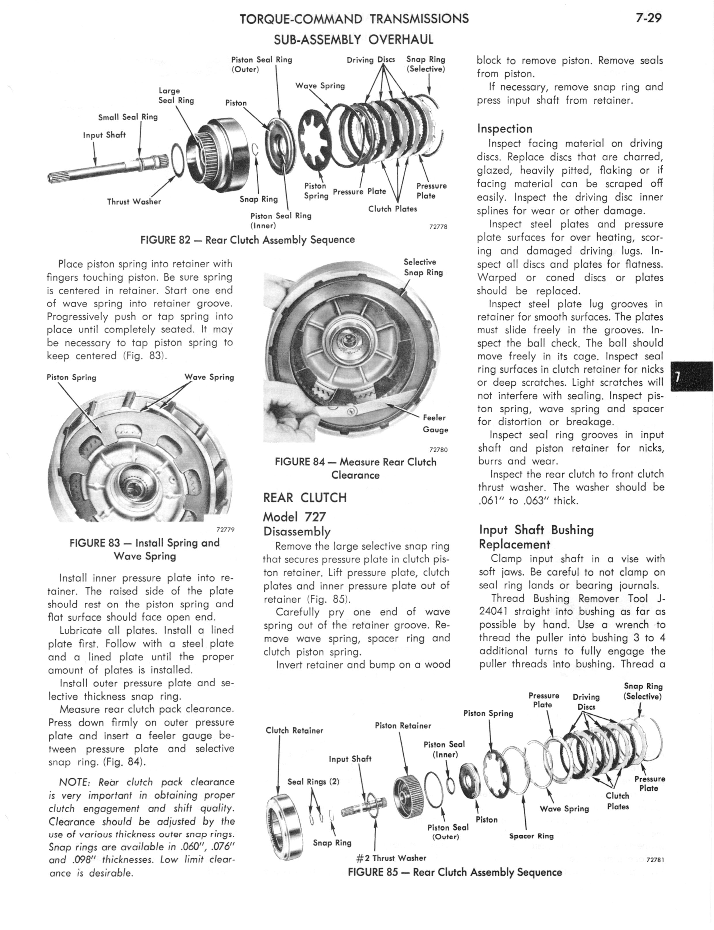 1973 AMC Technical Service Manual page 241 of 487