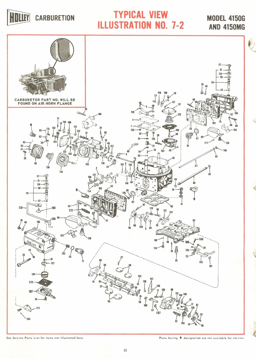 medium resolution of holley carburetor diagram wiring diagram for you holley carburetor vacuum diagram holley 4150g and 4150mg exploded