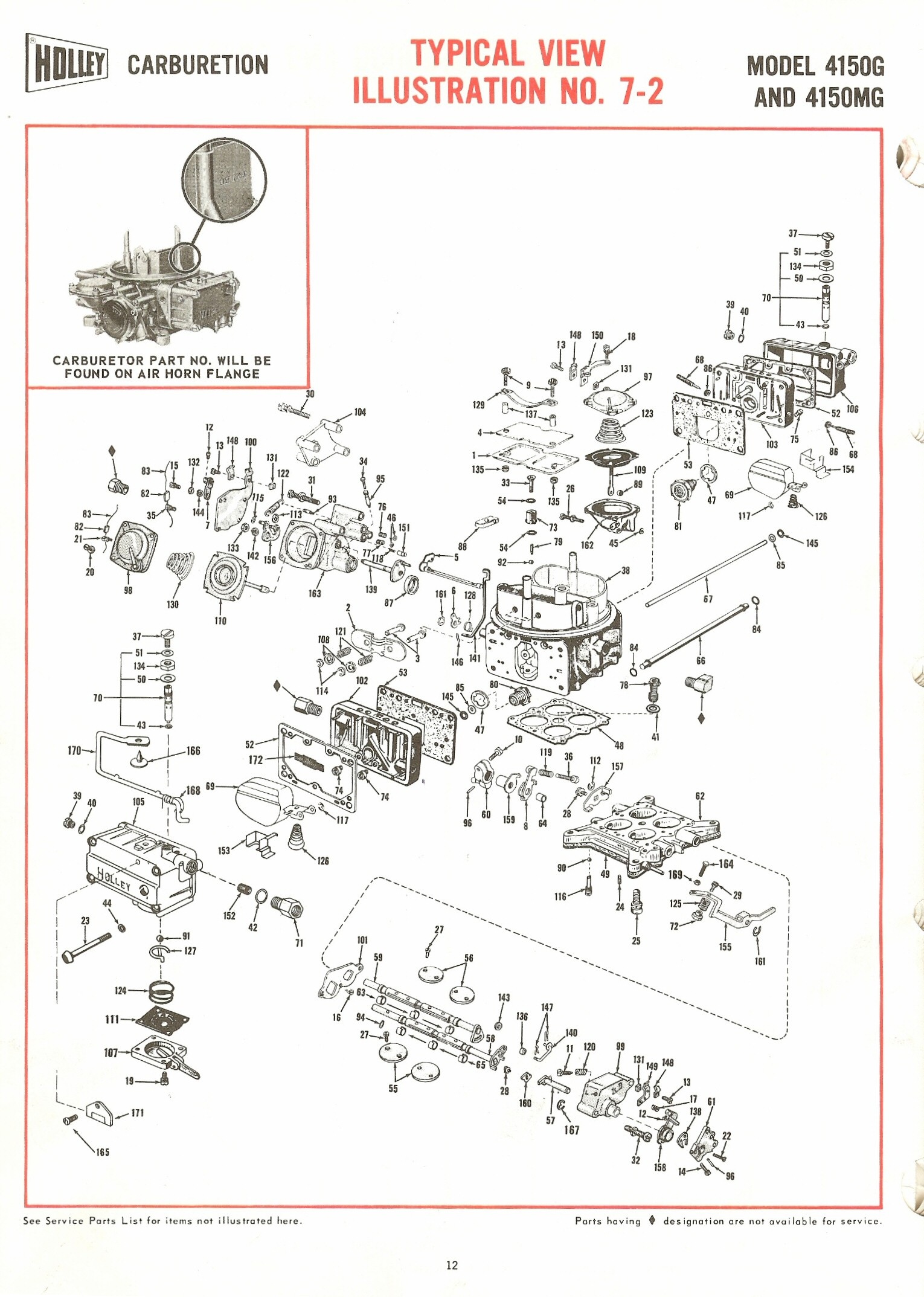 hight resolution of holley carburetor diagram wiring diagram for you holley carburetor vacuum diagram holley 4150g and 4150mg exploded