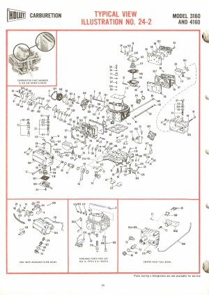 Holley 1920 Exploded Diagrams  The Old Car Manual Project