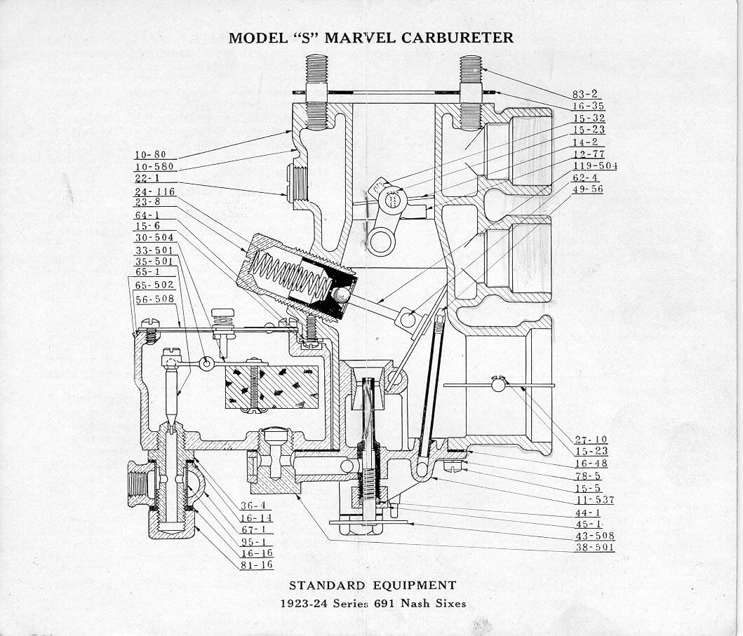 Marvel Carburetor for Nash Series 691 Sixes / New-06.JPG